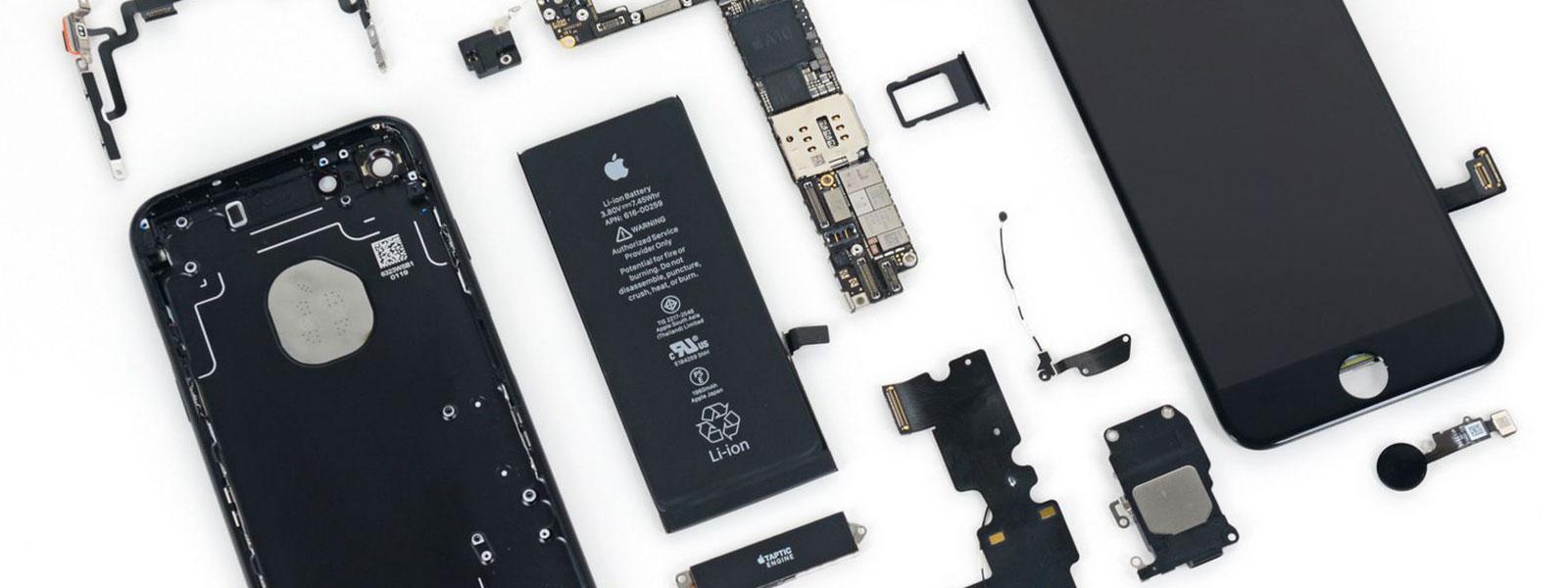 Замена стекла iphone7